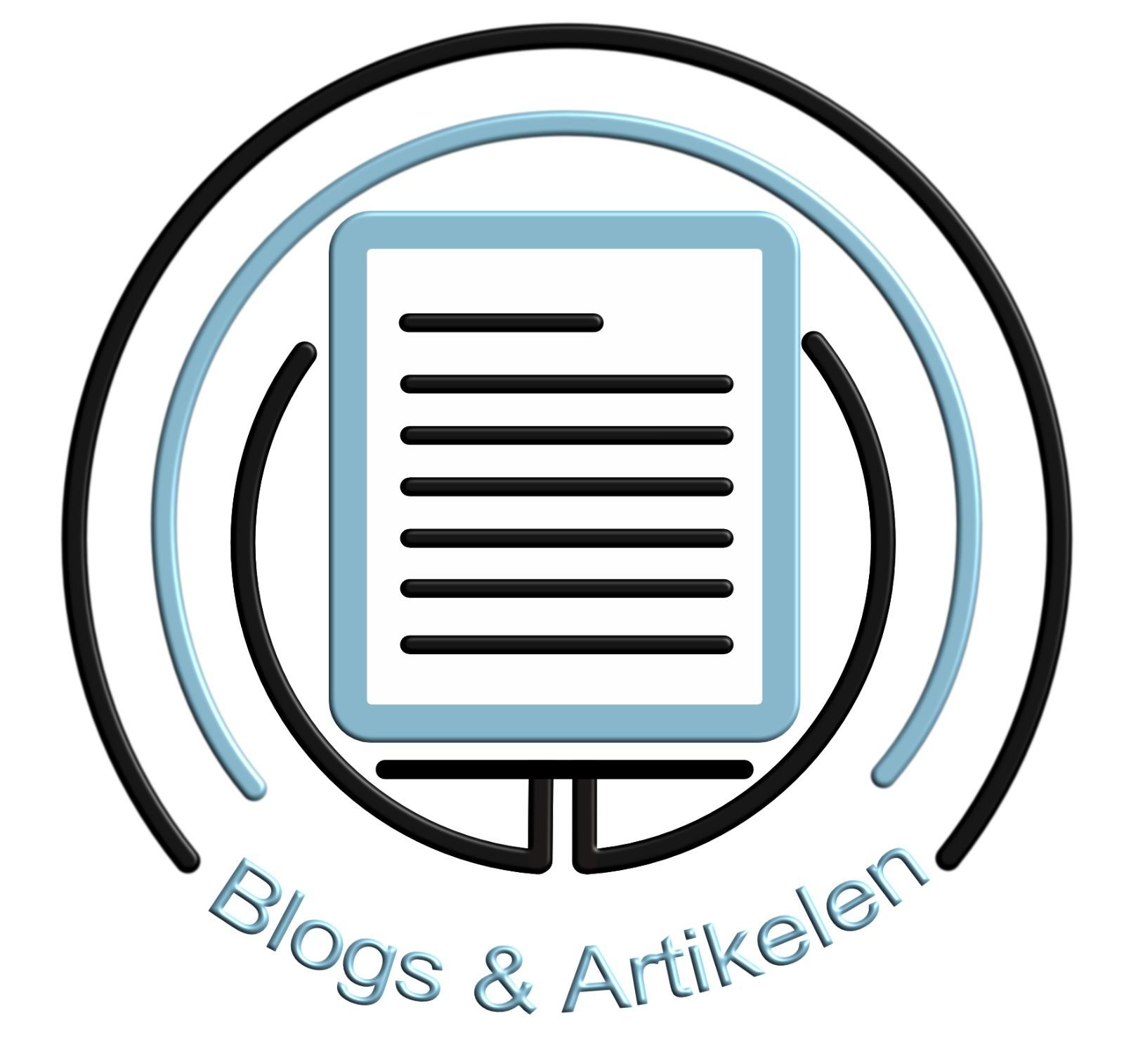 logo blogs en artikelen